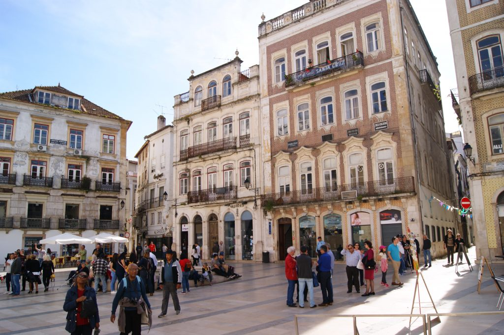 City center of Coimbra